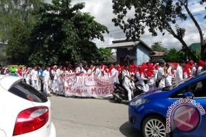 Ribuan Perawat di Sultra Tuntut Upah Layak