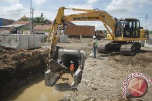 BWS Sulawesi IV Kendari Bangun Tiga Drainase Utama