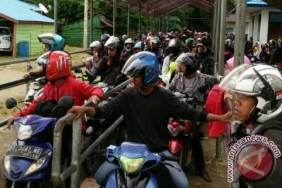 Sepeda Motor Dominasi Penumpang Kapal Feri
