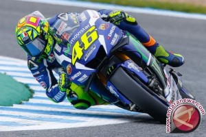 Rossi lewati tes kebugaran MotoGP Italia