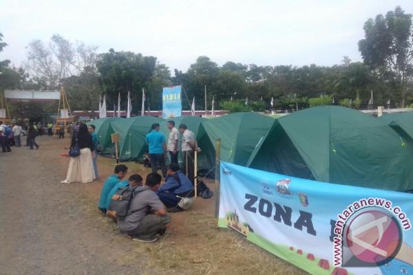 Kemah Kekuarga Semarakkan Harganas XXIV di Lampung