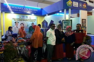 BKKBN Sultra Pamerkan Kerajinan Unggulan di Harganas Lampung