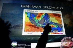 BMKG: Gelombang 2,5 Meter Terjadi Perairan Wakatobi