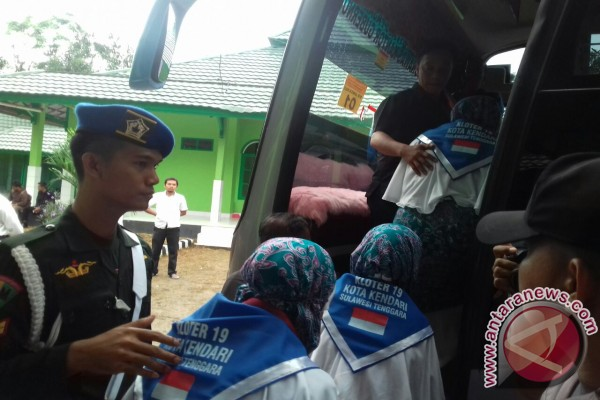 Plt Gubernur Lepas 2.026 Calon Haji Sultra
