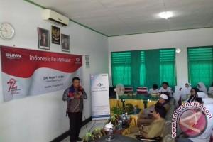 Dirut Indonesiare Jadi Motivator Siswa di Kendari
