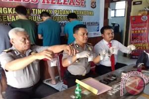 Polresta Kendari Ungkap Kasus Narkoba Libatkan PNS