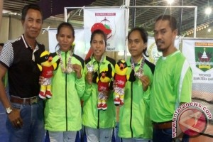 Popnas, Sepak Takraw Putri Sultra Rebut Medali Perak
