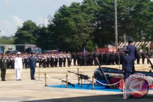 HUT TNI Ke-72 Di Kendari Berlangsung Sederhana