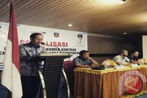 Konawe Selatan Sosialisasikan Penyusunan Kontrak Pengadaan Barang-Jasa