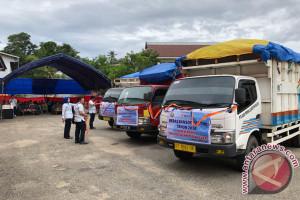Bulog Sultra salurkan beras bansos 1.546 ton