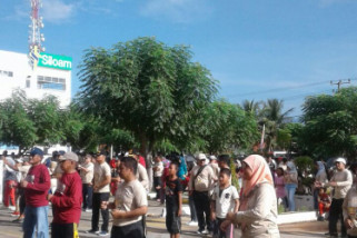 KPU Baubau gelar jalan sehat pilkada