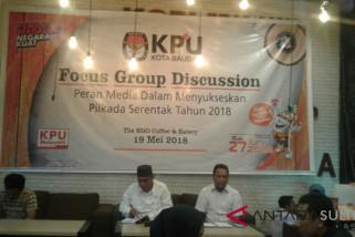 KPU Baubau harapkan media berikan informasi berimbang