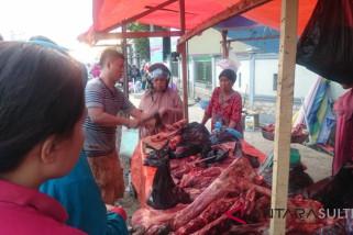 Harga daging sapi di Kendari rp130.000/kilogram