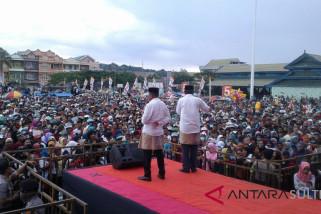 Ribuan orang  hadiri kampanye Akbar IBM-Ilyas