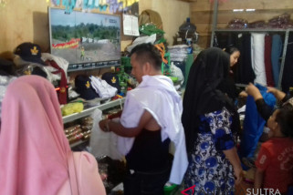Menurun, omzet penjualan pakaian bekas