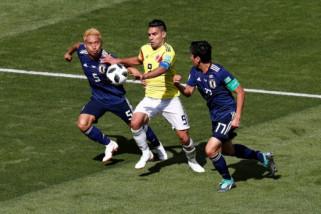 Jepang tundukan Kolombia 2-1 di penyisian grup