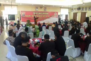 Gubernur apresiasi kinerja polisi ciptakan kamtibmas Sultra