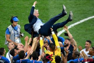Deschamps: Kekuatan mental jadi penyebab Prancis juara