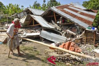 Presiden tinjau penanganan gempa Lombok