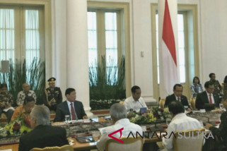 Presiden buka sidang kabinet terbatas bahas RAPBN 2019