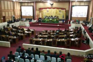 DPRD Sultra umumkan cagub terpilih dalam rapat paripurna