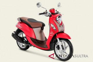 Yamaha rilis Fino Grande merah untuk kaum wanita