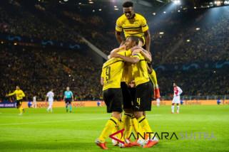 Hasil dan klasemen Grup A, Dortmund dan Atletico belum terbendung