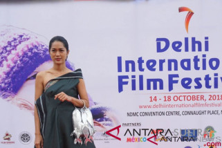 Prisia Nasution promosi film Indonesia di India