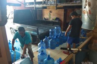 Dampak kemarau berkepanjangan, penjualan air galon meningkat