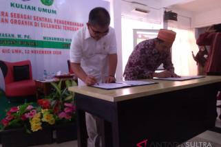 Buton Utara-UMK teken MoU pengembangan pertanian organik