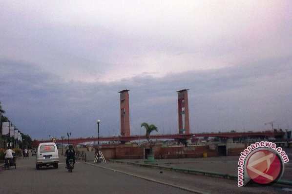 Cuaca di Palembang masih berpotensi hujan