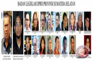 Kinerja Bidang Legislasi DPRD Sumsel Tahun 2009 - 2011