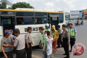 Polresta intensifkan razia angkutan umum
