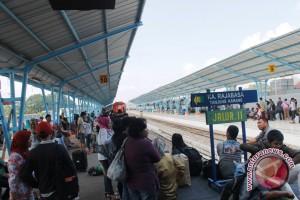 Jalur KA Palembang-Bandarlampung sudah bisa dilalui