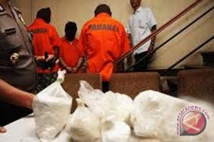 Empat tersangka kasus narkoba dilimpahkan ke kejati