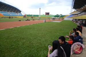 Mengisi liburan nonton Sriwijaya FC latihan