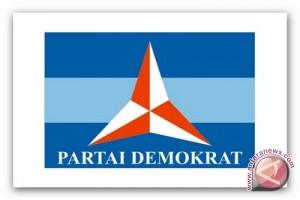 Pelantikan DPD Demokrat Sumsel di halaman terbuka