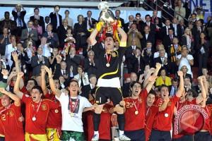 Del Bosque: masa jaya Spanyol belum tamat