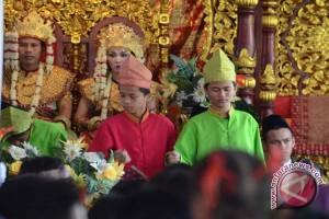 Upacara adat perkawinan khas Palembang kian langka
