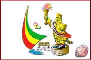 PON 2012 - Daftar perolehan medali sementara