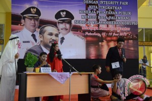 Drama  anti korupsi di Palembang expo 2012