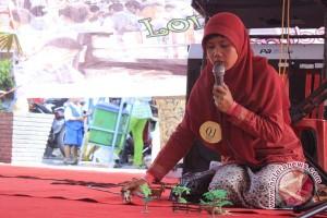 Puluhan peserta ikut lomba dongeng