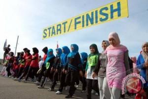 PKS gelar jalan sehat gratis di Palembang