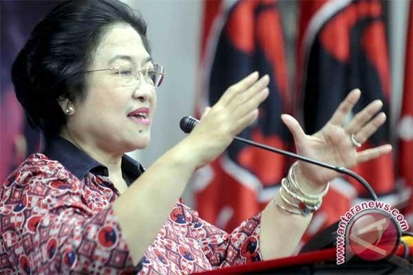 Megawati gunakan hak pilih di kebagusan