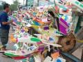 Pedagang pernak-pernik HUT RI marak di Palembang