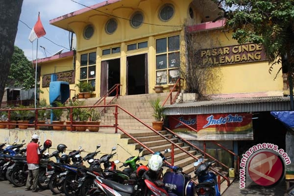Pasar Cinde Palembang akan dibangun secara modern