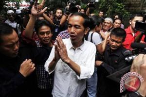 Presiden Jokowi kunjungi kebun binatang ragunan