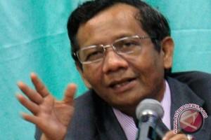 Mahfud: Negara ini maju kalau hukum ditegakkan