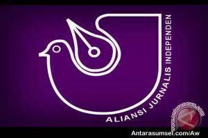 AJI Palembang tuntut proses hukum aparat Polri