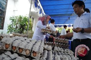 Harga Telur Ayam di Baturaja Bergerak Naik